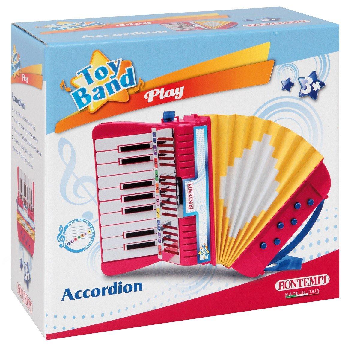 bontempi wooden accordion amazoncouk toys  games -