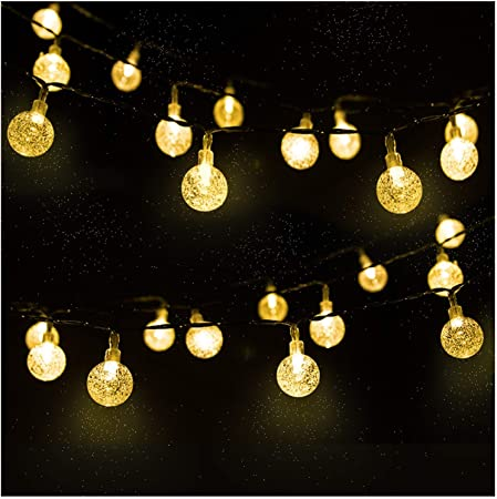 Mr Twinklelight Solar String Lights 30 Led 4 5m Waterproof Solar Fairy Light Festival Lights Garden Lights Celebrate Wedding Birthday Christmas Party Warm White Energy Class A Amazon Co Uk Garden Outdoors