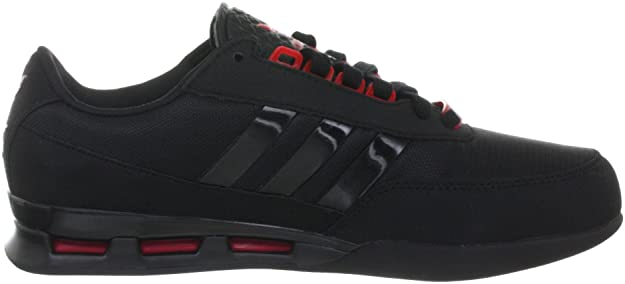 pick up b9edb fa9f5 adidas Originals Porsche GT Cup G63016, Herren Sportive Sneakers, Schwarz  (BLACK 1   BLACK 1   LIGHT SCARLET), EU 40 2 3 (UK 7)  Amazon.de  Schuhe    ...