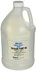 Welch 8995G-15 Vacuum Pump Oil, Gold; 1 Gallon