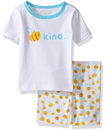 c7cd09159 Amazon.com  The Children s Place Baby Girls  2-Piece Short Pajama ...