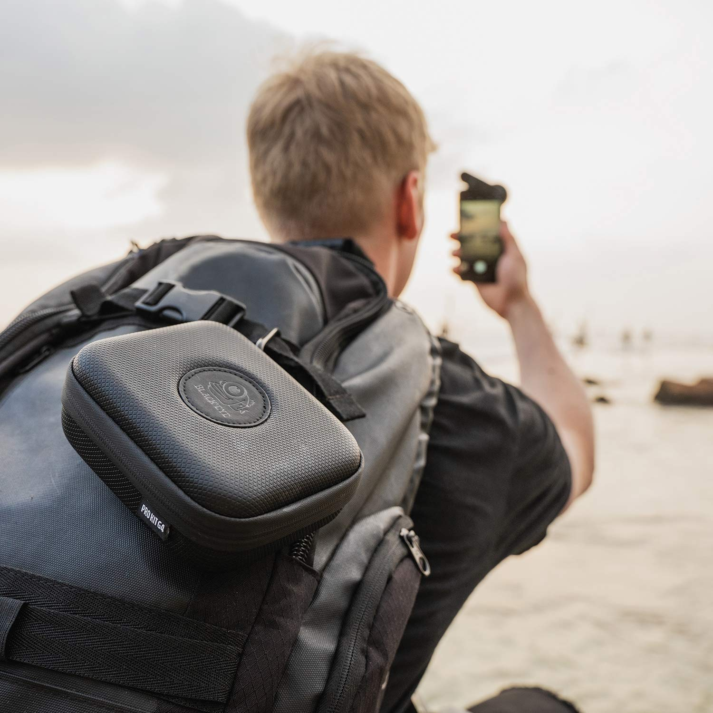 - G4TE001 Black Eye Pro Portrait Tele G4 Tele-Objektiv 2,5x n/äher am Motiv, Clip-Befestigung, Antireflex-Beschichtung, Funktioniert auch mit MultiCams /& Frontkamera optimiert f/ür neuere Handys