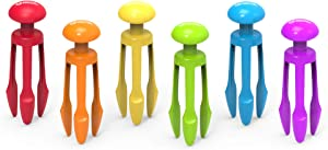 Learning Resources 3 Prong Tong, Pencil Grip Tongs, Sensory Bin, Fine Motor Toy, Set of 6, Ages 4+