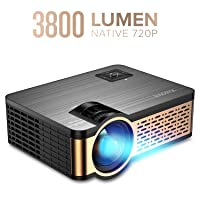Deals on XIAOYA W5 Native 720P Mini Movie Projector with HiFi Speaker