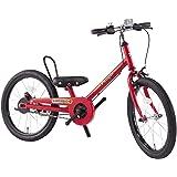 People(ピープル) ラクショーライダー 18インチ サルビアレッド 補助輪パスして自転車イチバン乗り! YGA284