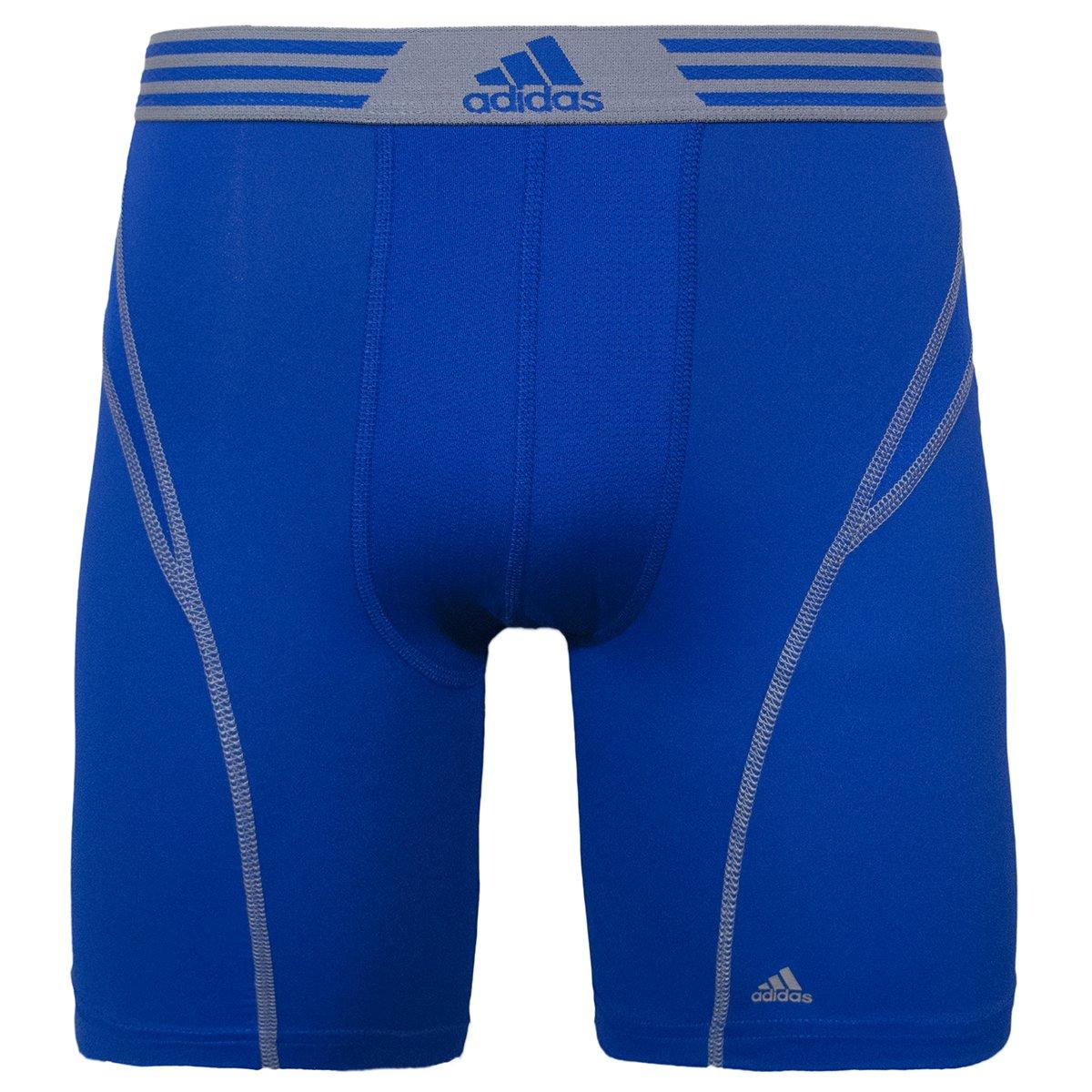 adidas de Hombre Climalite Flex Midway Ropa Interior - 5136582D, Gris, Azul (Bold Blue/Tech Grey): Amazon.es: Deportes y aire libre