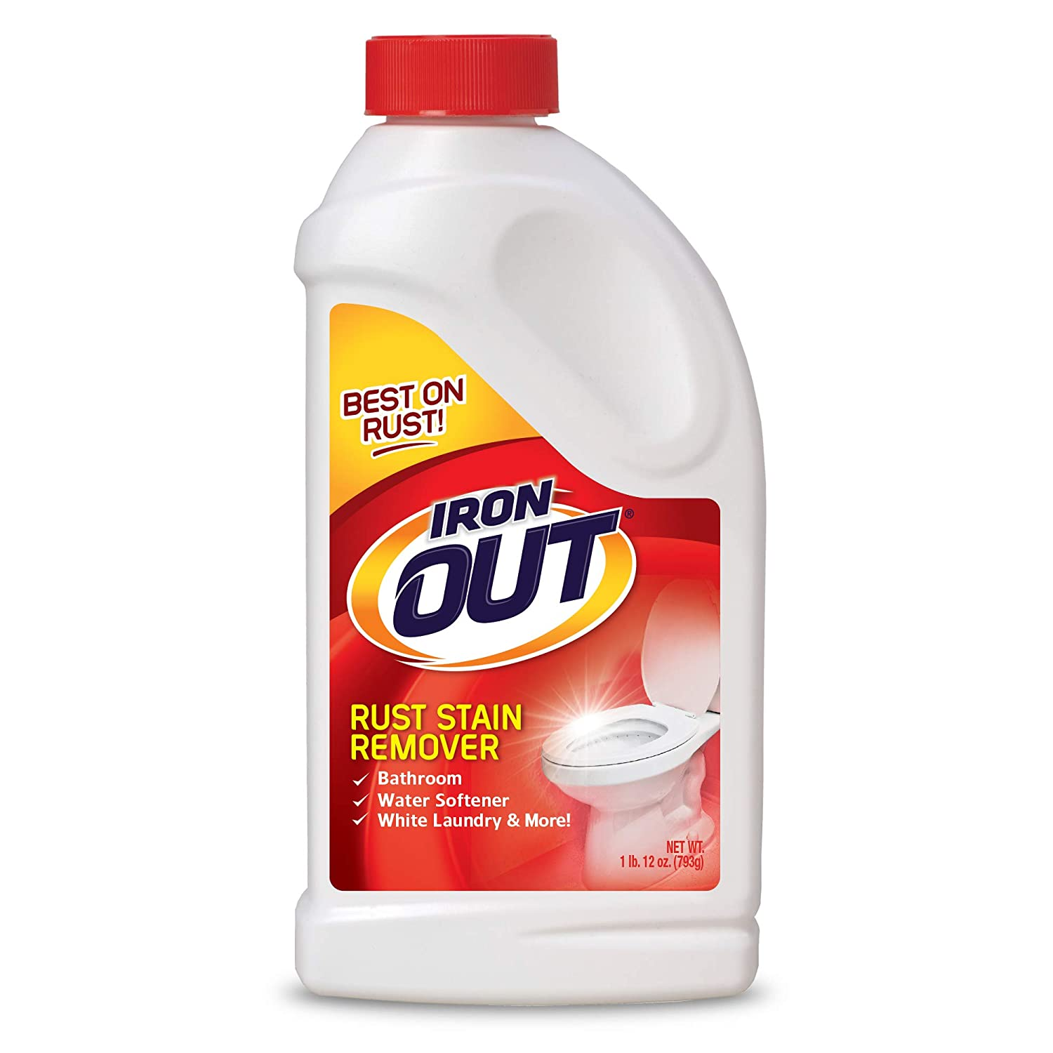 Iron OUT IO30N Rust Stain Remover Powder, 1 lb. 12 oz. Bottle