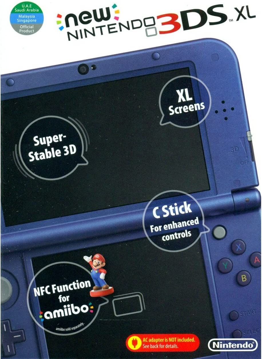 Nintendo New XL – Nintendo 3DS