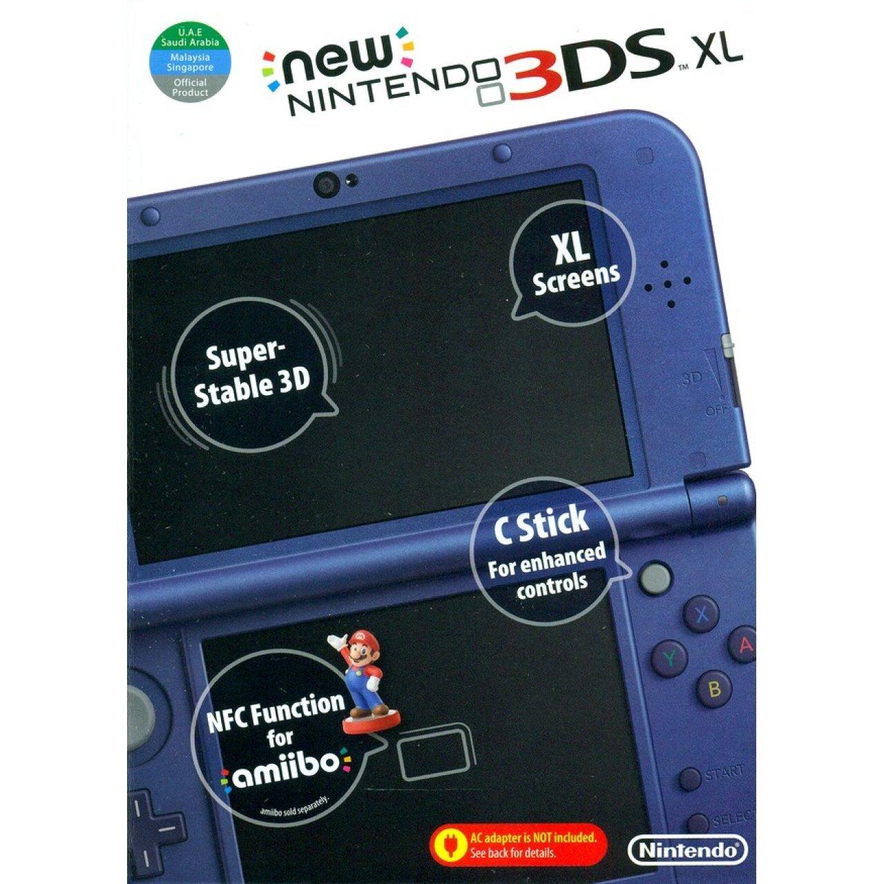Nintendo New XL - Nintendo 3DS