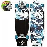 """OBFive(オービーファイブ) スケートボード White Wash 28"""" Surf Truck"""