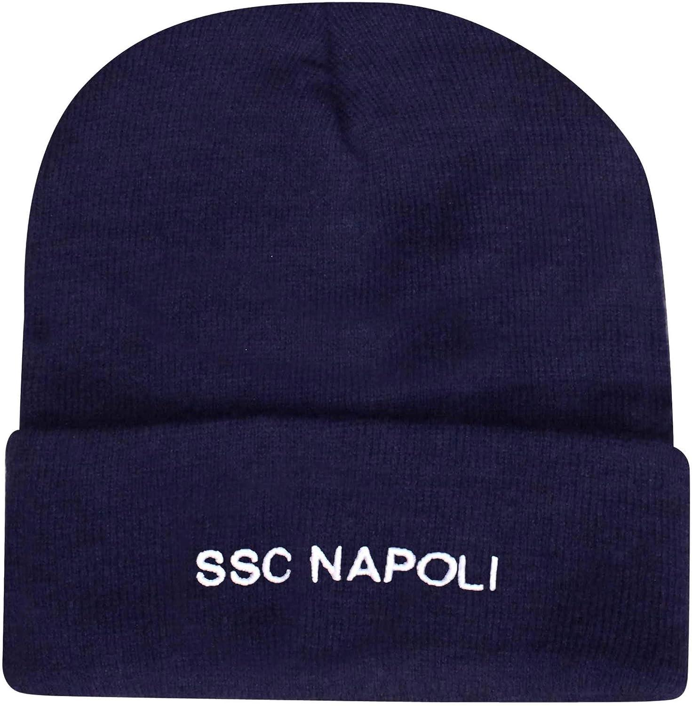 100/% Acryl Napoli Offizieller SSC Crest Winter Bronx M/ütze
