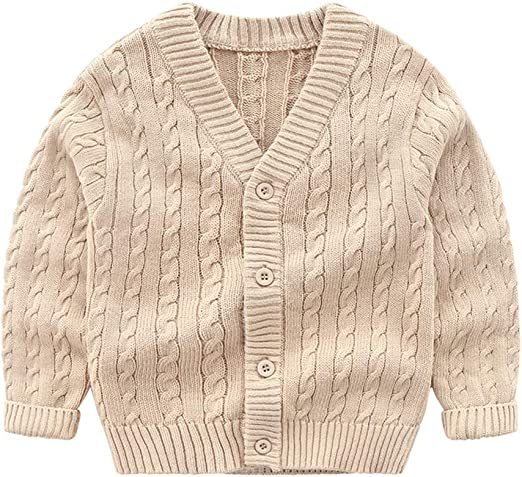 French Toast School Uniforms Anti-Pill Crew Neck Cardigan Sweater Girls Black 12