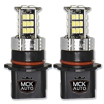 MCK Auto 1600lm P13W LED Canbus luces más fuertes en el mercado para su A4 B8
