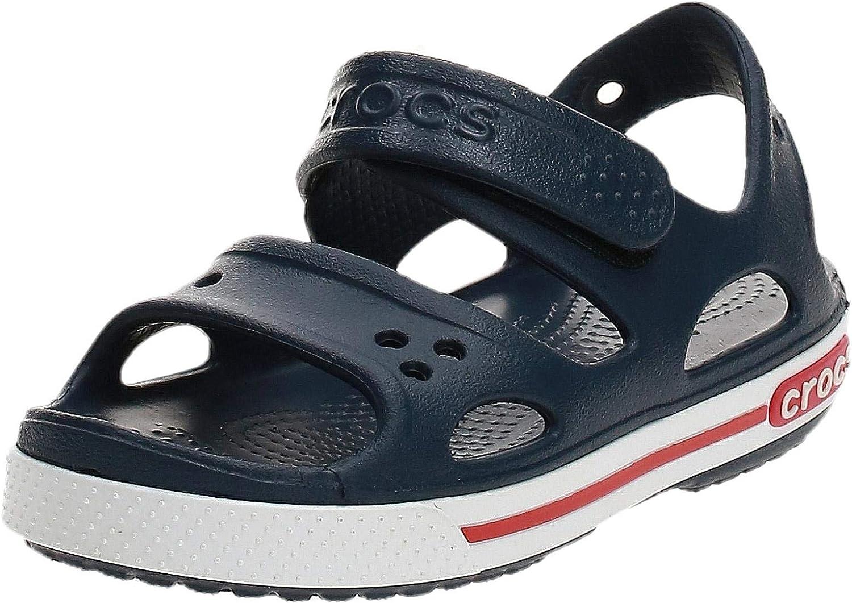 Crocs Kids' Crocband Ii Sandal   Water Slip on Shoes for Boys and Girls