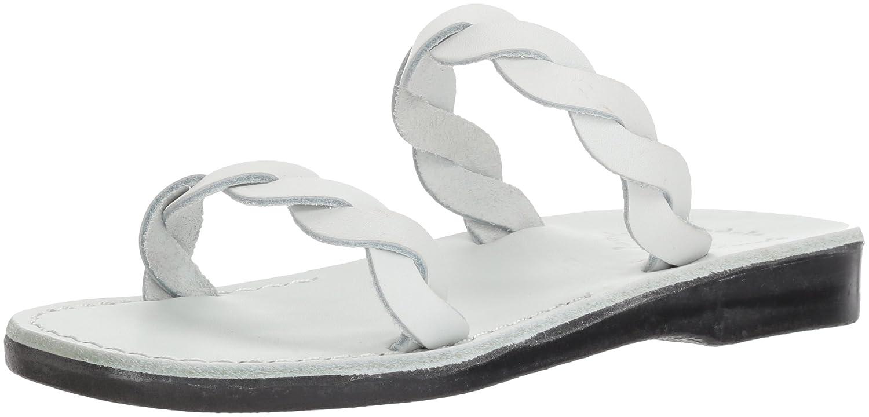 Jerusalem Sandals Women's Joanna Slide Sandal B075KN8D4T 36 Medium EU (5-5.5 US)|White