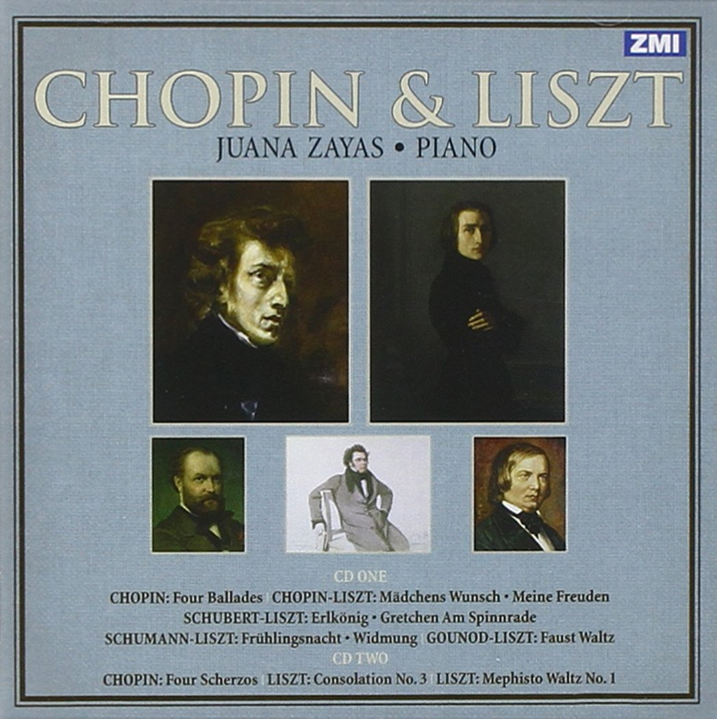 Chopin & Liszt by Zayas Masterworks Inc.