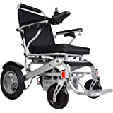 """Rubicon Best Rated Exclusive Deluxe Electric Wheelchair Motorized Foldable, Dual """"500W"""" Motors, All Terrain, Dual…"""