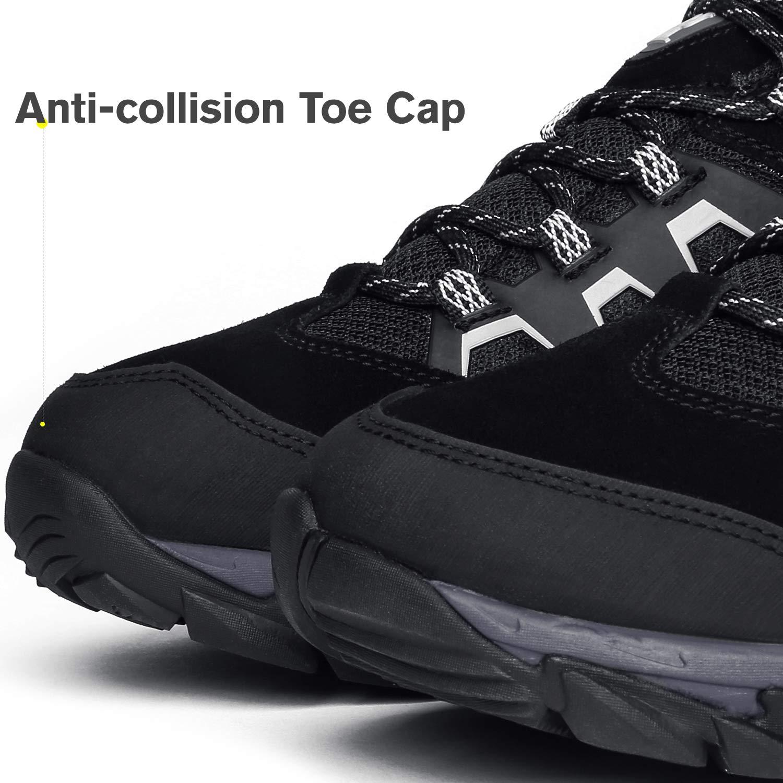 CAMEL CROWN Zapatos de Senderismo Hombres Zapatillas Ligeras de Escalada  Botas de Trekking al Aire Libre Seguro Respirable Calzado Deportivo para ... 6847c10cd268c