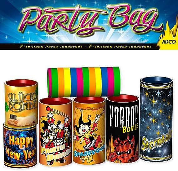 2 x 4er Pack TISCHFEUERWERK Silvester Party