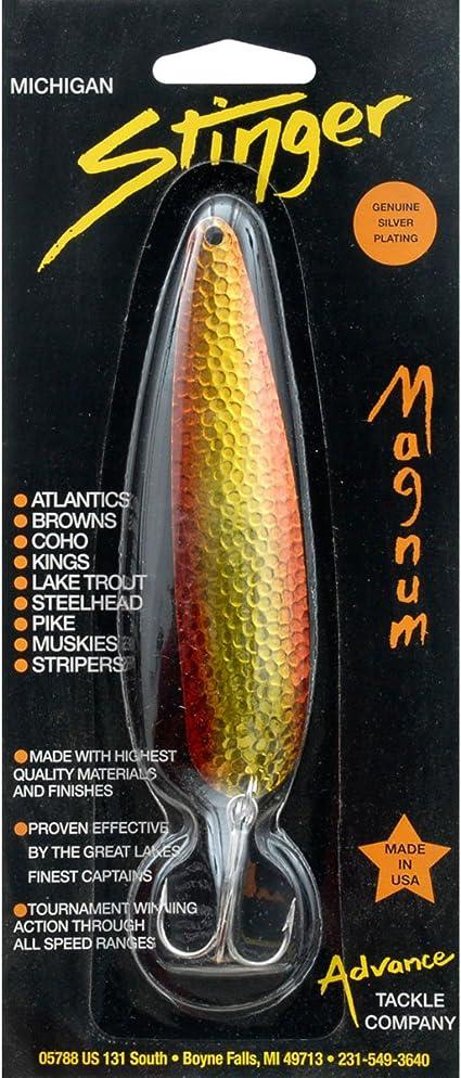 Bronze Advance Tackle Stinger Scorpion Monkey Puke 2.25-Ounce Fishing Spoon Lure