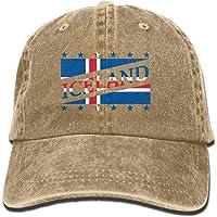 Vidmkeo Unisex Adulto Bandera de Islandia Copa del