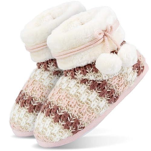 Damen Pantoffel Hausschuhe Winter gefüttert Gr 37//38,39//40,41//42 NEU schön warm