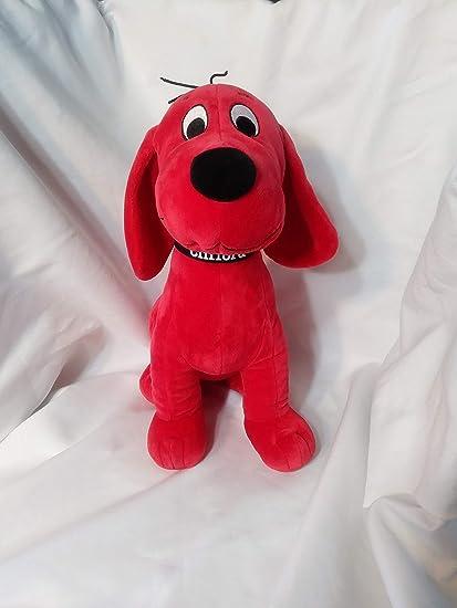"10/"" Kohls Cares for Kids Clifford Big Red Dog T-Bone Soft Velour Stuffed Plush"