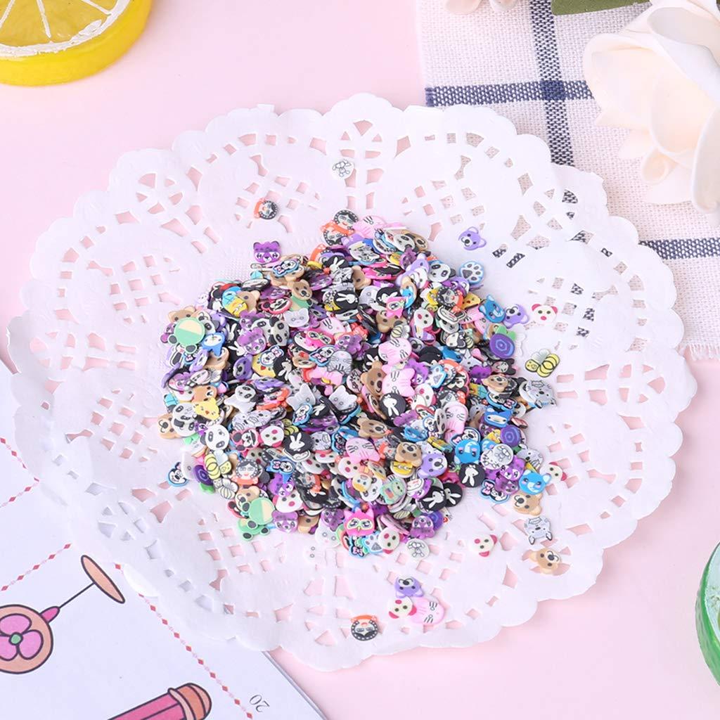 ZJL220 New 1000Pcs Polymer Clay Toy DIY Fruit Slime Accessories Accessories Accessories Jelly Mud Hand Gum B07LGRWCBZ | Neuer Eintrag  23ed9d