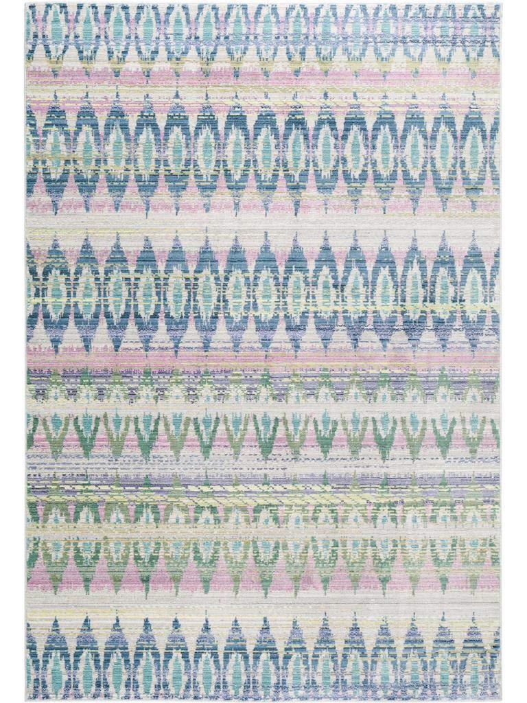 Benuta Teppich Visconti Blau 160x230 cm   Moderner Teppich für Wohn- und Schlafzimmer