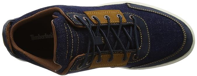 Timberland Damen Amherst Canvas Chukkadark Denim Chukka Boots