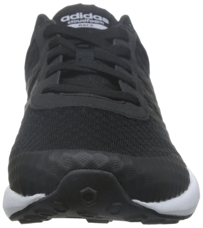 adidas Herren Cloudfoam Race Fitnessschuhe, Schwarz, 42 EU Schwarz (Negbas / Negbas / Ftwbla)