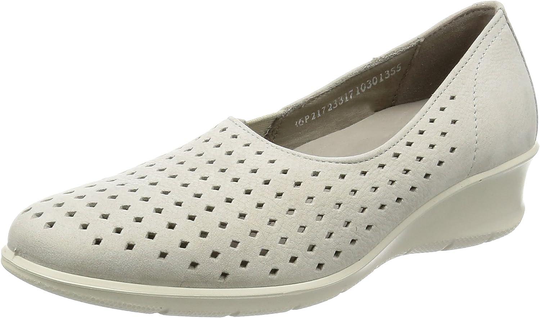 NIB Ecco 21705301001 Felicia Black Slip On Women/'s Shoe