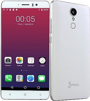 SORAKA Smartphone Libre 5.5 Pulgadas MTK 6580 Android 5.1 Quad ...