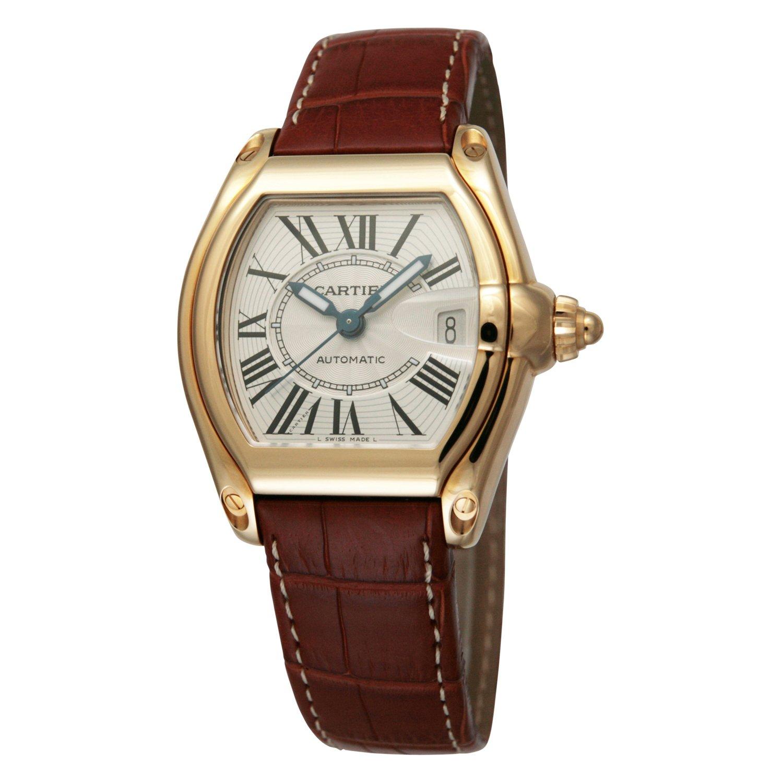 [カルティエ]Cartier 腕時計 ロードスター 18Kイエローゴールド 茶革 自動巻き メンズ W62005V2 メンズ 【並行輸入品】 B00DDBR8NK