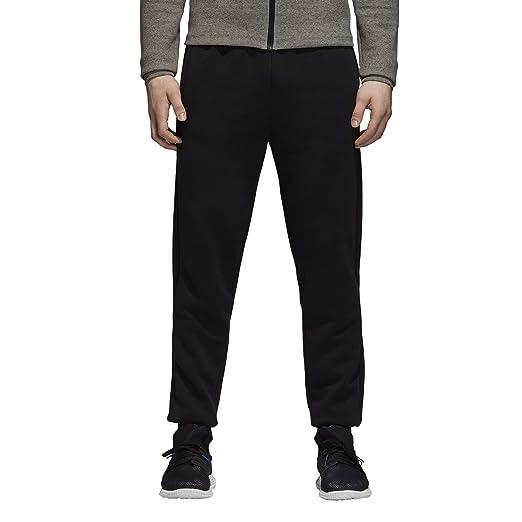 the best attitude cabb9 4cdcd adidas Men s Essentials 3-Stripe Jogger Pants, Black, Small