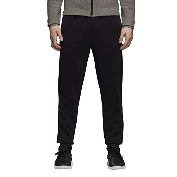 Details about New adidas Men's Originals Tape Fleece Walking Track Pants Black