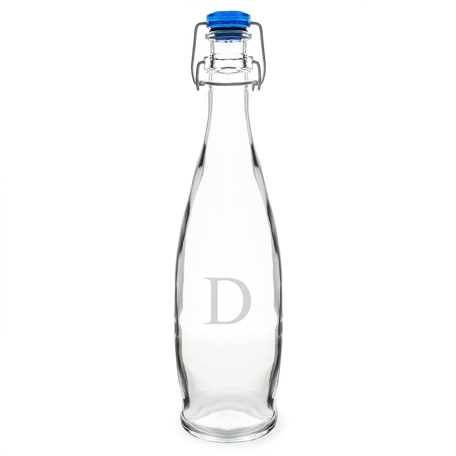 Cathys Concepts Personalized Swing Top Glass Water Bottle Letter Y Cathy/'s Concepts 1194-Y