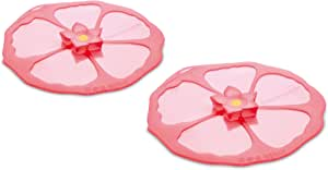 Charles Viancin Hibiscus Drink Cover Set/2