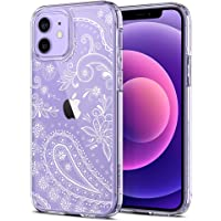 【CYRILL by Spigen】 Cecile Designed for iPhone 12 Case (2020), iPhone 12 Pro Case (2020) - Floral Mandala