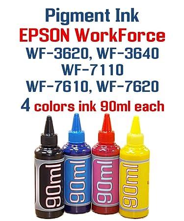 Amazon.com: Tinta pigmentada WorkForce WF-3620 WF-3640 WF ...