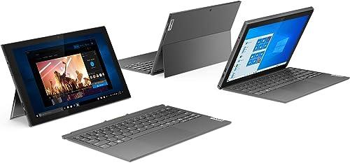 Lenovo IdeaPad Duet 3i 10 3 Zoll 1920x1200 Full HD WideView Touch 2 in 1 Tablet Intel Celeron N4020 4GB RAM 64GB eMMC WLAN Intel UHD Grafik 600 Win 10 Home inkl Microsoft 365 Single grau