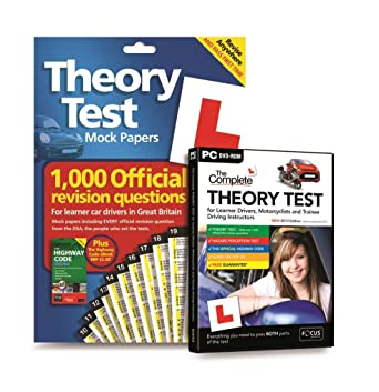 The Complete Theory Test 2013 and Mock Theory Test Papers Pack (PC)
