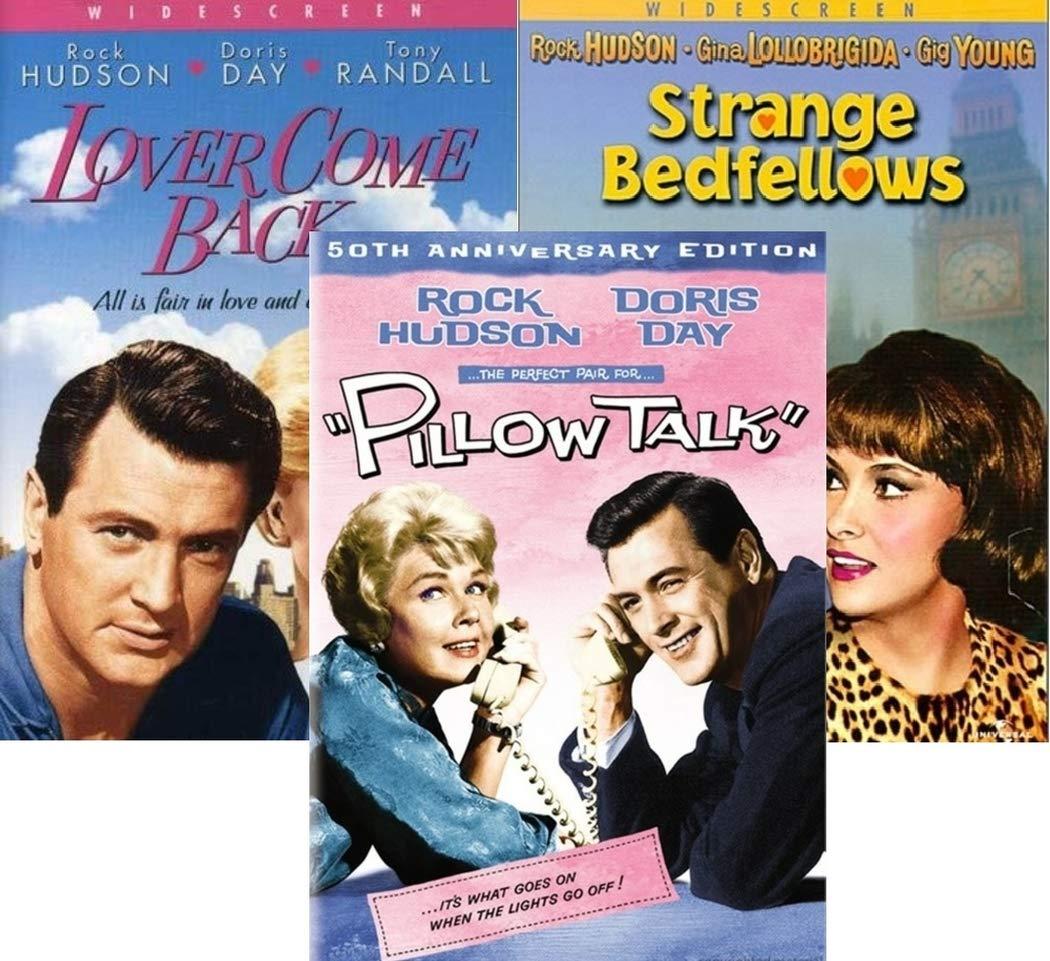 Amazon Com Lover Come Back Pillow Talk Strange Bedfellows Rock Hudson Movies Rock Hudson Doris Day Tony Randall Gina Lollobrigida Gig Young Jack Kruschen Julia Meade Nick Adams Arthur Haynes