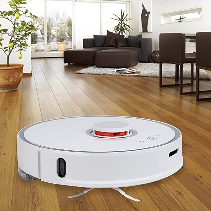 Robot aspirador con máxima succión, Xiaomi Smart Robot aspirador Nueva Generación 2 in1 Sweep Mop LDS Parachoques Slam: Amazon.es: Hogar