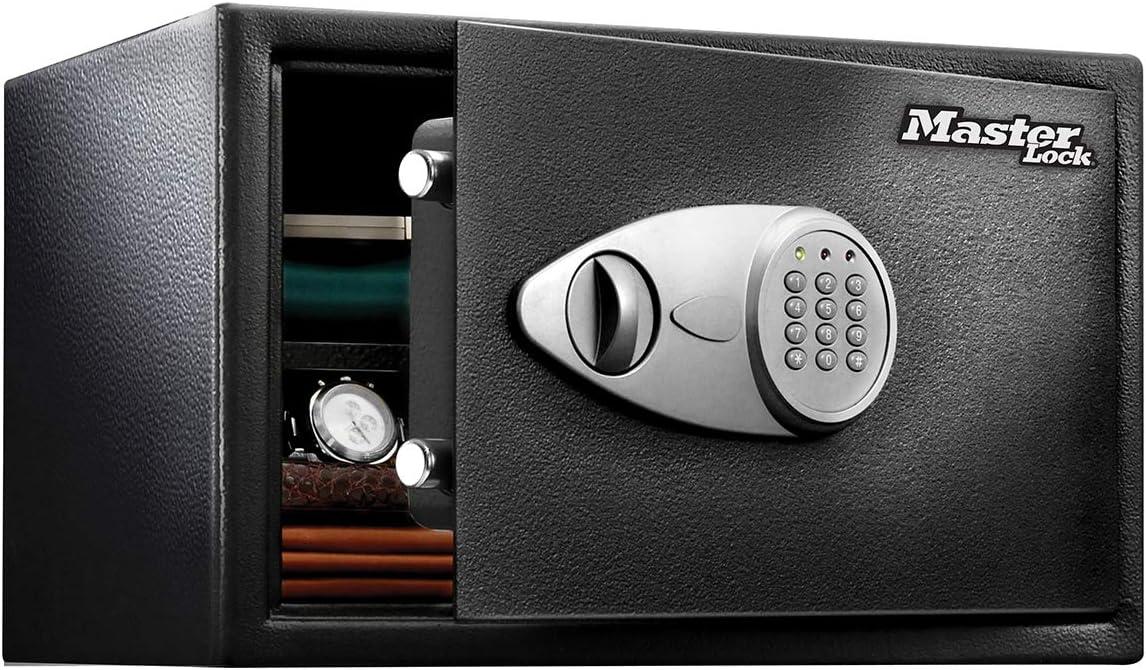 MASTER LOCK Security Safe XL – 33 Liter Digital Lock – X125ML – Laptop Safe, Jewelry Safe and More