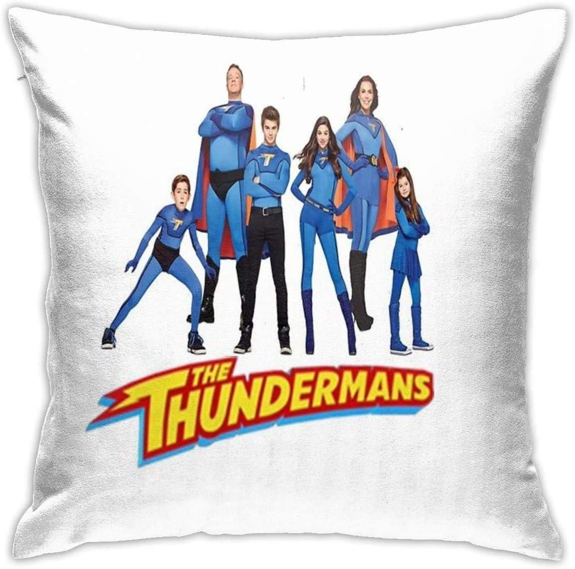 YPPDPP The Thundermans Square Pillow Cases Cubierta de cojín Throw Pillow Cover Funda cojine Home Bed Room Interior Decoración: Amazon.es: Hogar