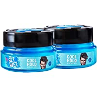 Set Wet Cool Hold Hair Styling Gel for Men, 250 ml (Pack of 2)