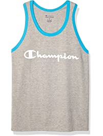 Champion Mens Classic Jersey Graphic Tank Shirt