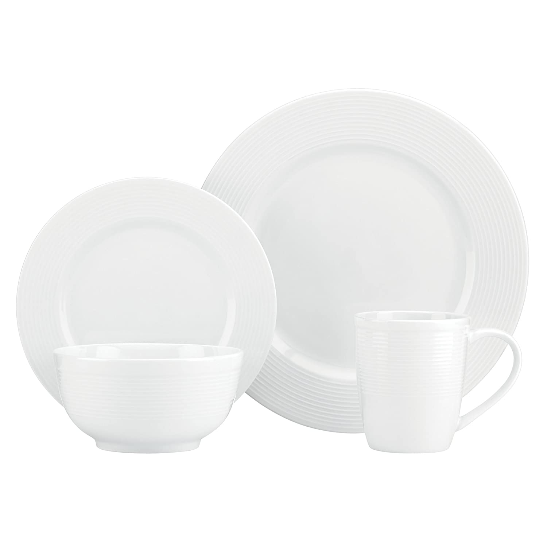 Amazon.com | Gorham Pickwick 48-Piece Dinnerware Set: Place Settings ...