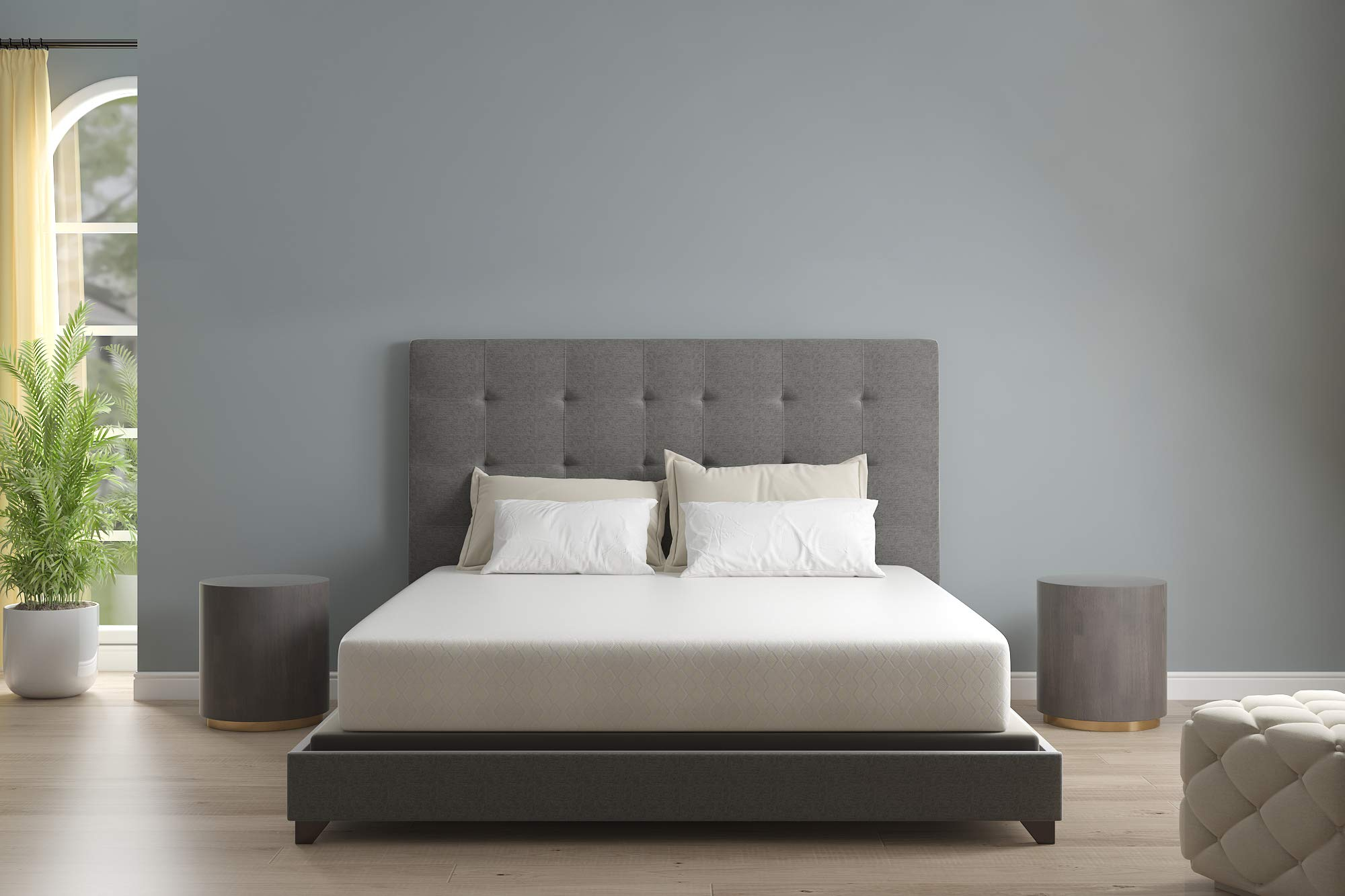 Signature Design by Ashley Mattress, Twin .1 Pack Hybrid (12″ Chime,)
